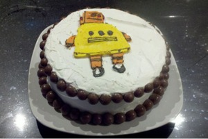 Character Cake for Non-Skilled People