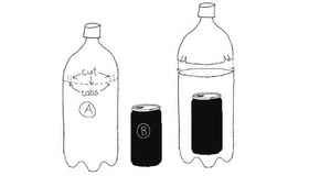 Solar Water  Pasteurizer Made From Bottle and Can