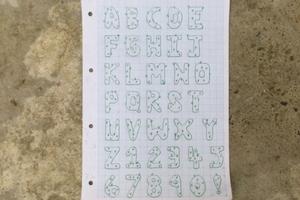 Cacti typeface