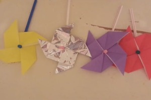 how to make a transforming paper throwing star