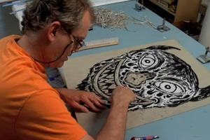 Anatomy of a Linocut by Bill Fick