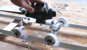 DIY Dolly from Skateboard Parts