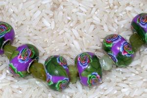 Polymer Clay Pandora style beads