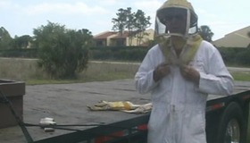 How to Put on a Beekeeping Suit