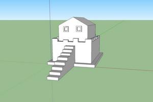 Sketchup Fort