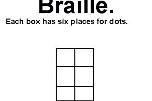 Learn braille!
