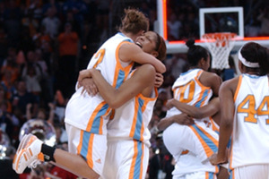 Tennessee Women's Basketball wins Title