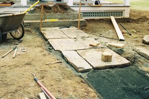 Urbanite Pathway Install