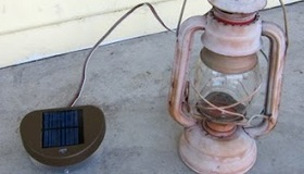 Solar Light Hack