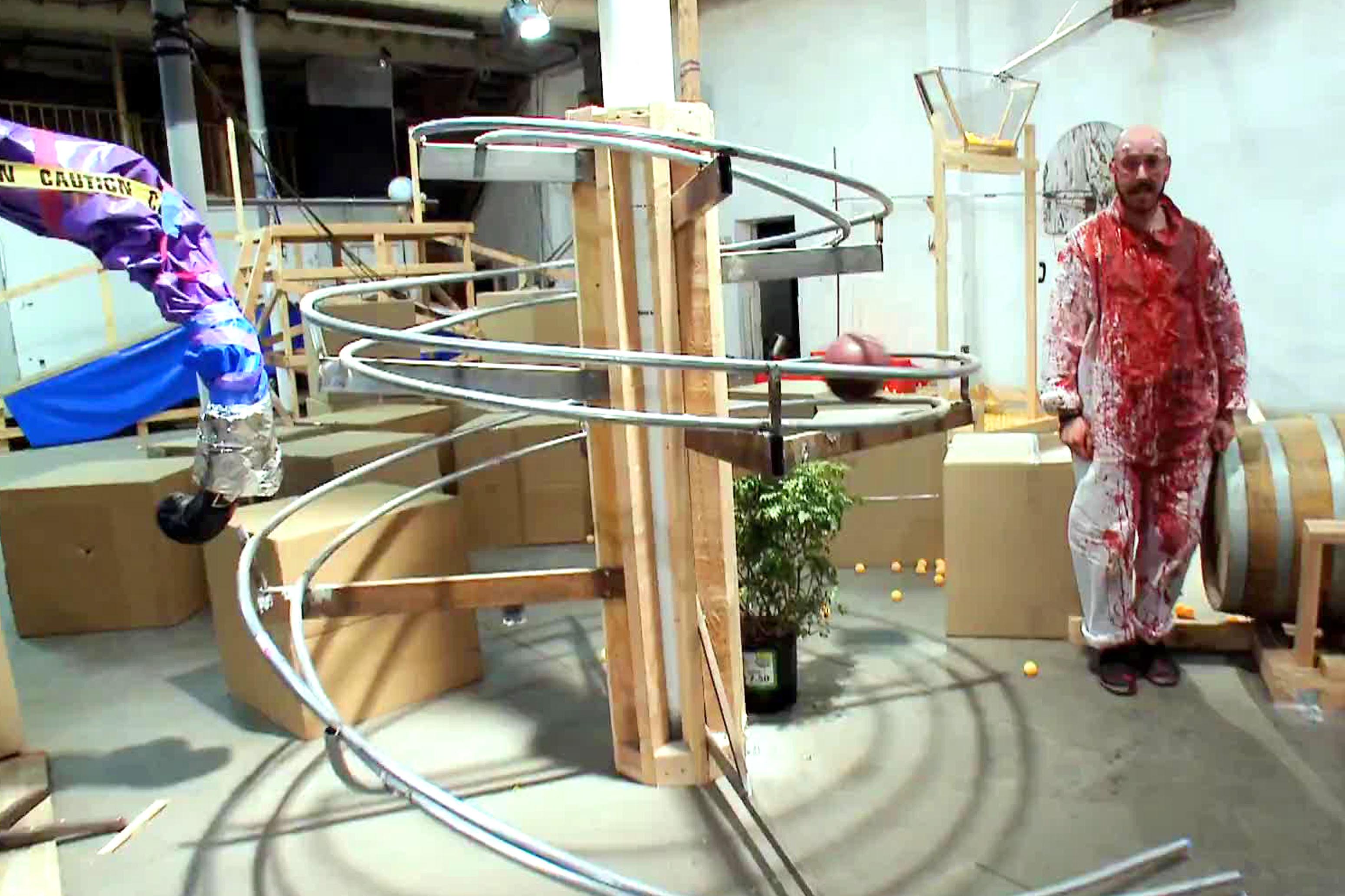 Make a Rube Goldberg Machine - DIY