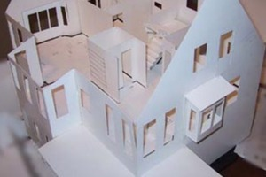 Making a scale model house