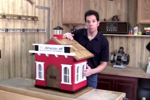 Little Free Library - Woodworking Around the Home