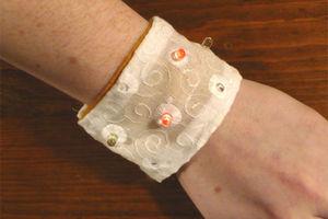 Soft Circuit LED Bracelet