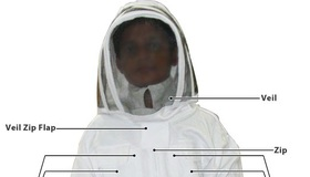 Beekeeping Suit with Labels