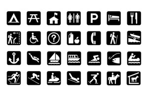 National Parks pictographs
