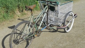Shopping Cart Cargo Bike