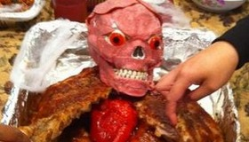 Halloween Meat Surprise