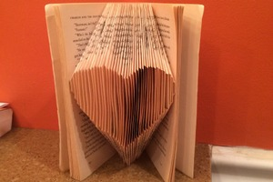 Book Art Heart