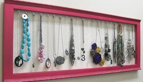 Picture Frame Jewelry Display