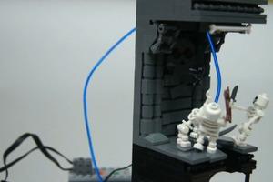 Lego Illuminated Diablo Sorceress Vignette