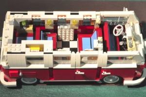 Lego Camper Van Stop Motion