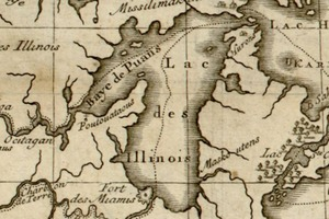 Bernard's Course of the Mississippi