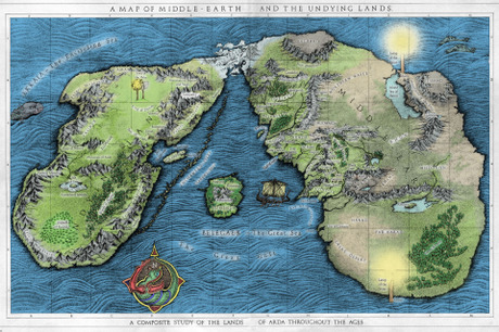 Map Your Favorite Fictional World Diy