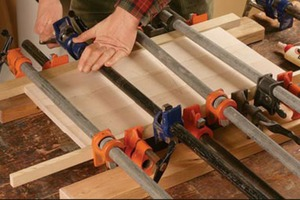 Clamping A Woodworking Project