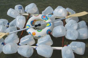 Milk Jug Raft