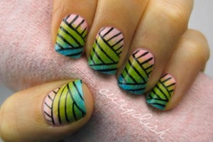 Basket Pattern Nails