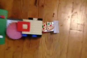 Pizza Rube Goldberg machine