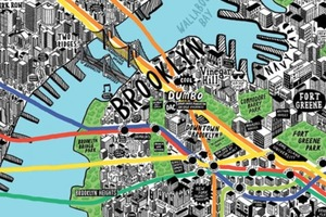 Map of Brooklyn