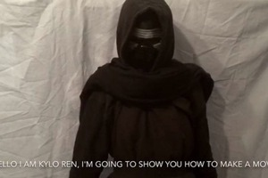 Kylo Ren's how to make a movie