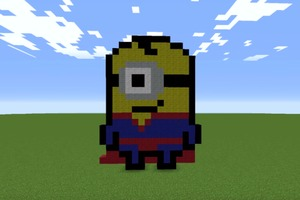 Superman Minion | Pixel Art Tutorial