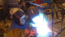 Welding a Chair