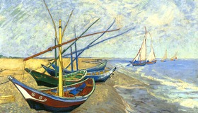 Boats by Van Gogh