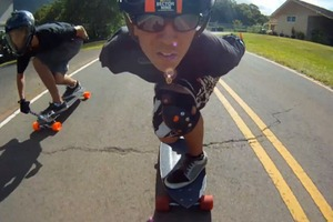 Hawaiian Downhill Skate Crew