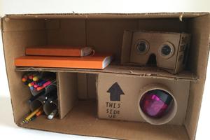 Cardboard organizer