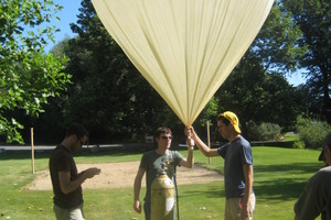 Low Cost Near Space Balloon