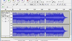 Audacity Music Editing Software