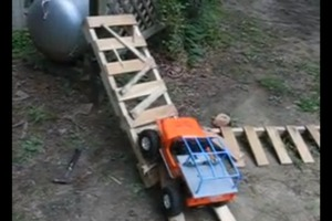 How to make an obstacle course out of a pallets