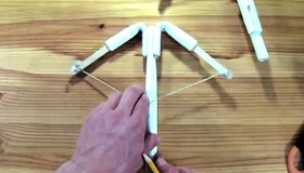 Paper Crossbow