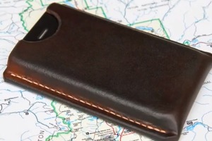 Making a Leather Case for an iPhone