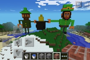Leprechauns Minecraft Art
