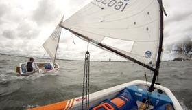 GO PRO: Opti Sailing Head Cam