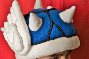 Mario Kart Blue Shell Hat