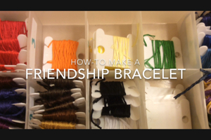 How-to make a Friendship Bracelet
