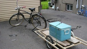 DIY Bicycle Trailer Projects