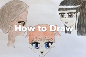 Manga faces!