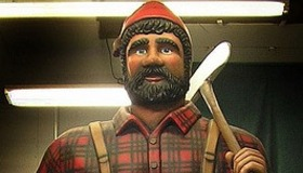 Paul Bunyan Foam Carving